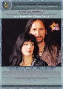 Spiritual Intimacy with Shakti Mhi & Pepe Danza
