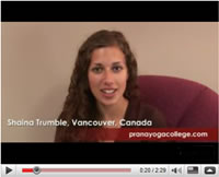 Video Testimonials from yoga teacher training graduates